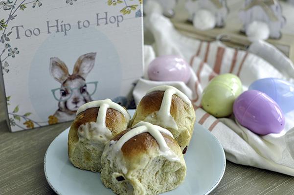 Cardamom Raisin Hot Cross Buns_Easter Scene.jpg