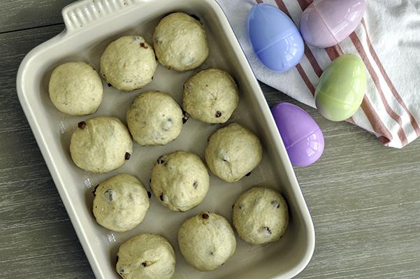 Cardamom Raisin Hot Cross Buns_Dough Balls.jpg