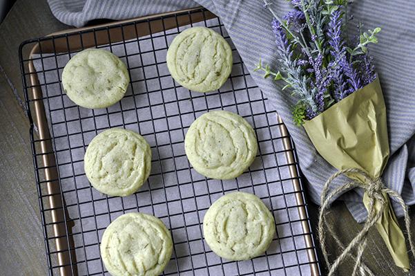 Lemon Lavender Sugar Cookies_unglazed on rack wide.jpg