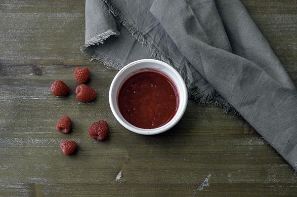 Raspberry Swirled Angel Food Cake_strained raspberry jam.jpg