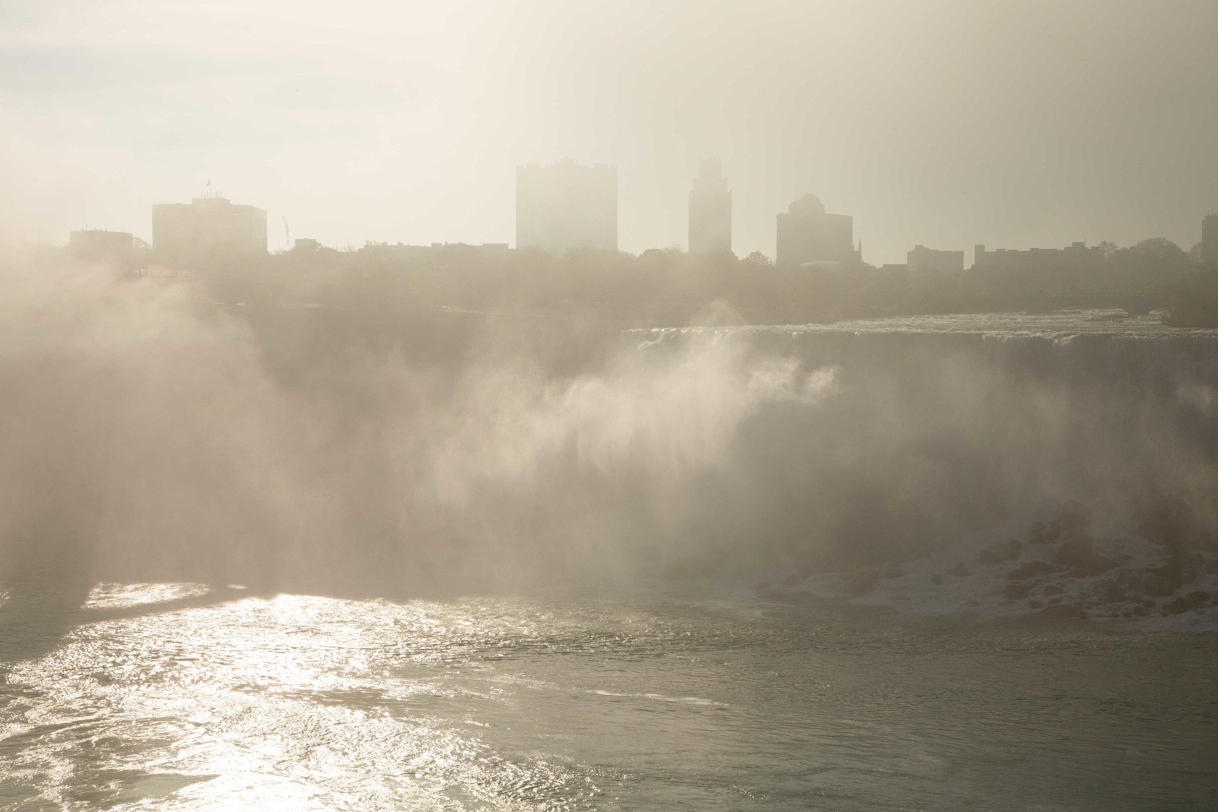 American Falls from Niagara Falls, Ontario