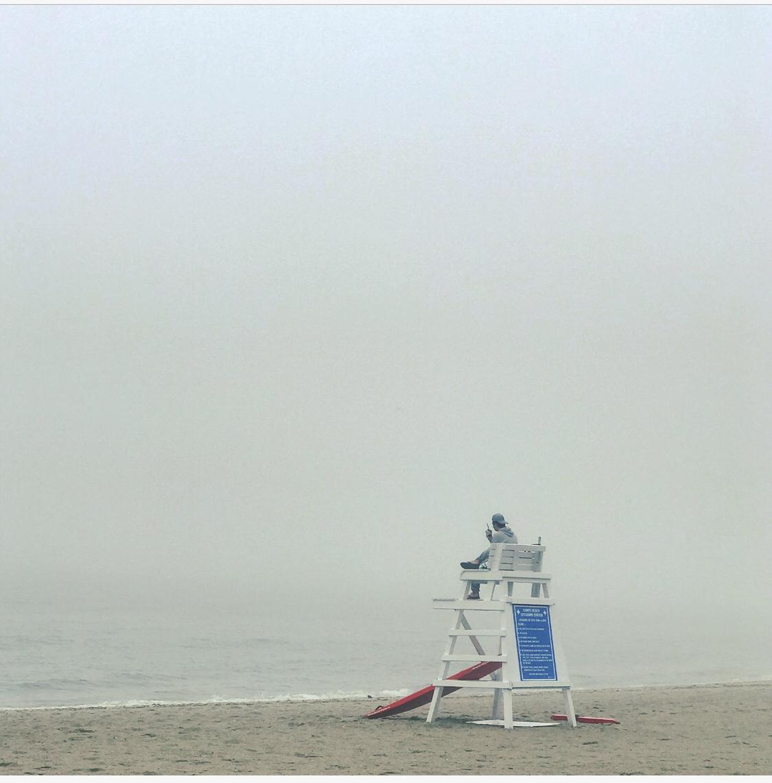 Compo Beach Lifeguard Stand. Image property of Gimlet Marketing