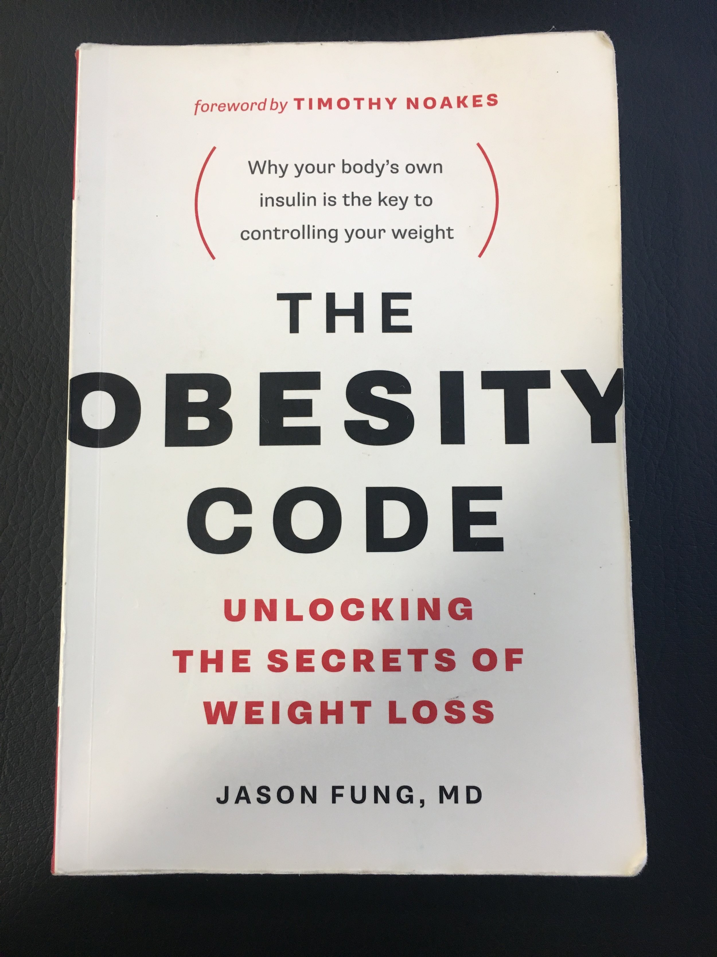- Dr. Jason Fung, one of the world's leading experts on obesity, debunks many of the misconceptions surrounding sustainable weight loss. if you're fed up with counting calories and inconsistent progress I strongly suggest you read this book!