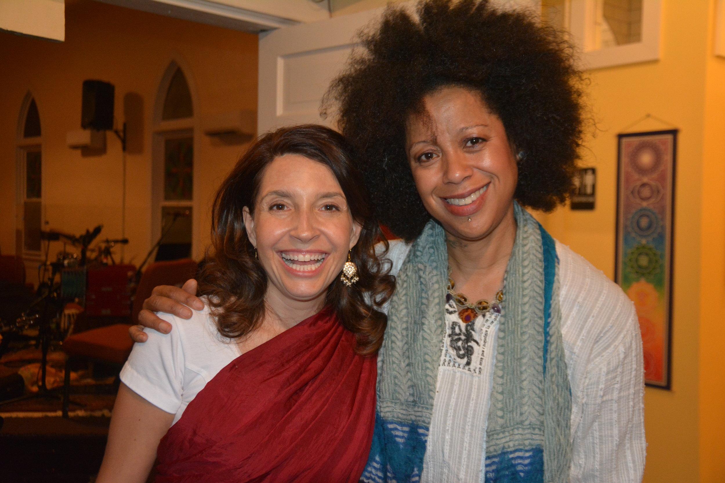 Gina and Bibi McGill.JPG
