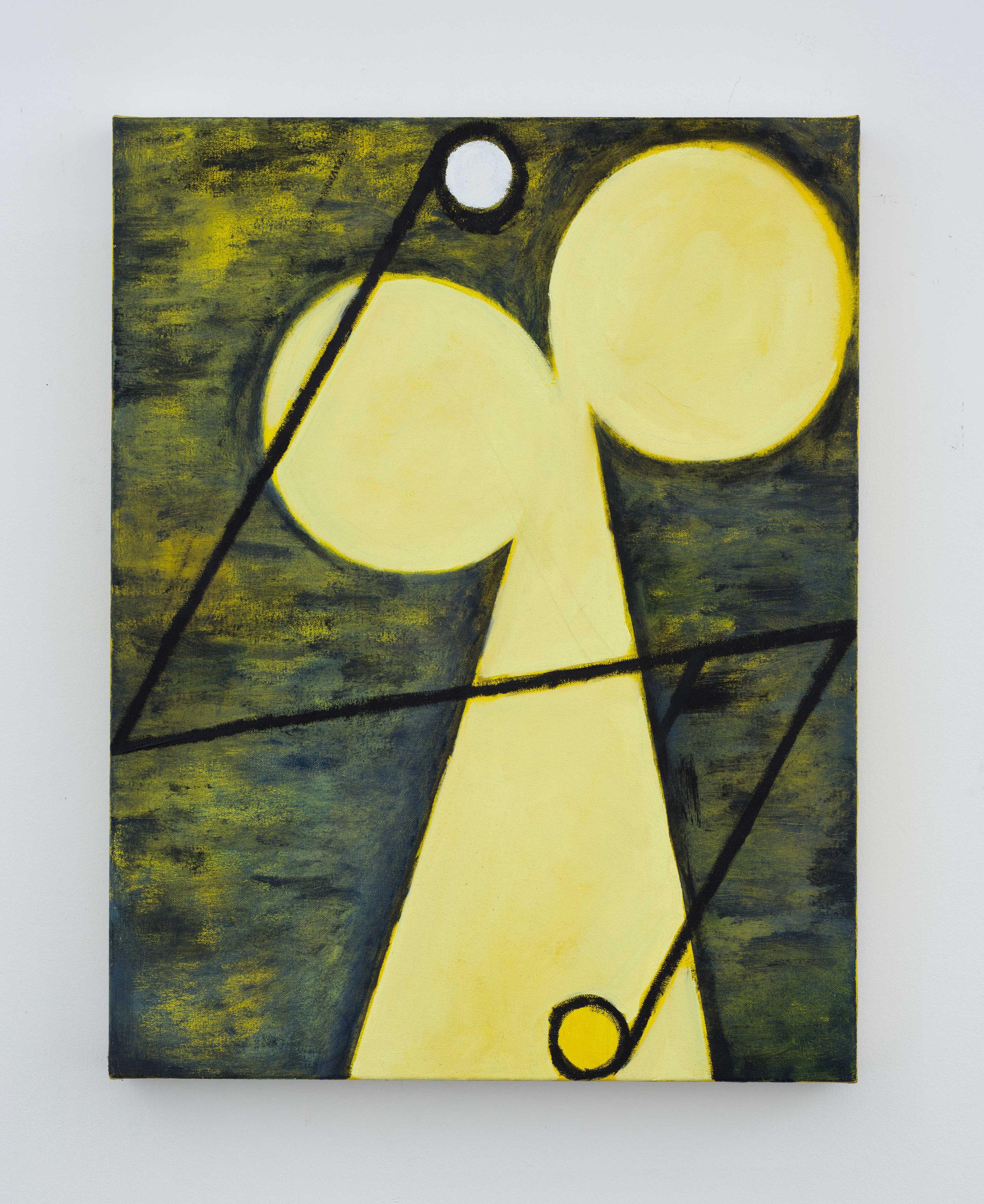 Cold Spot  2017 Oil on canvas 60x45cm