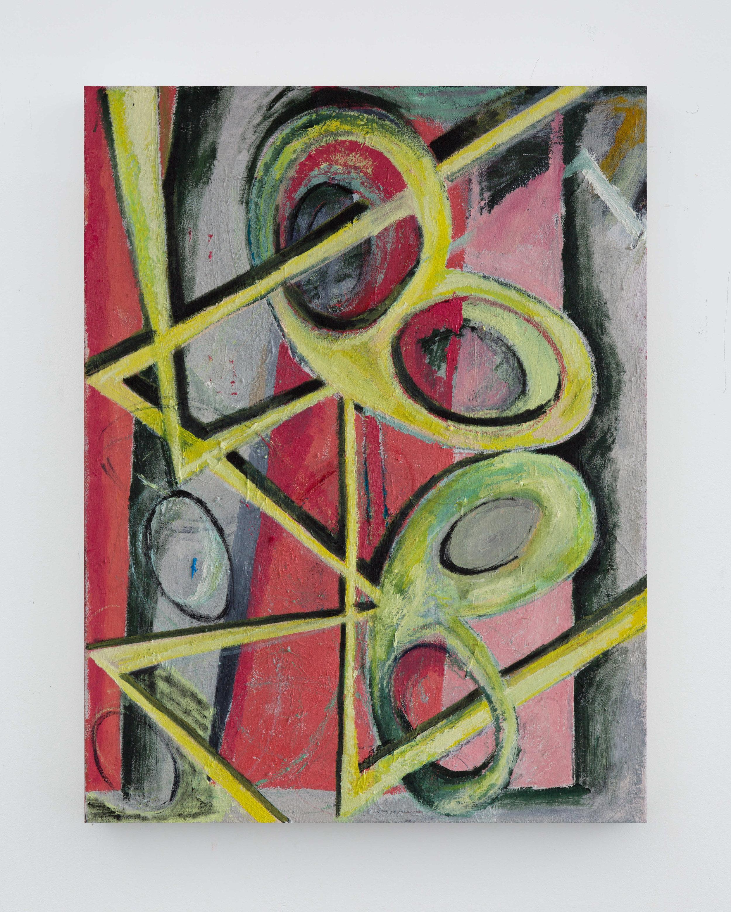 Closecaller  2019 Oil on canvas 60x45cm