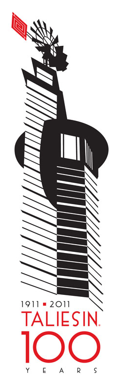 Taliesin 100 Year Logo