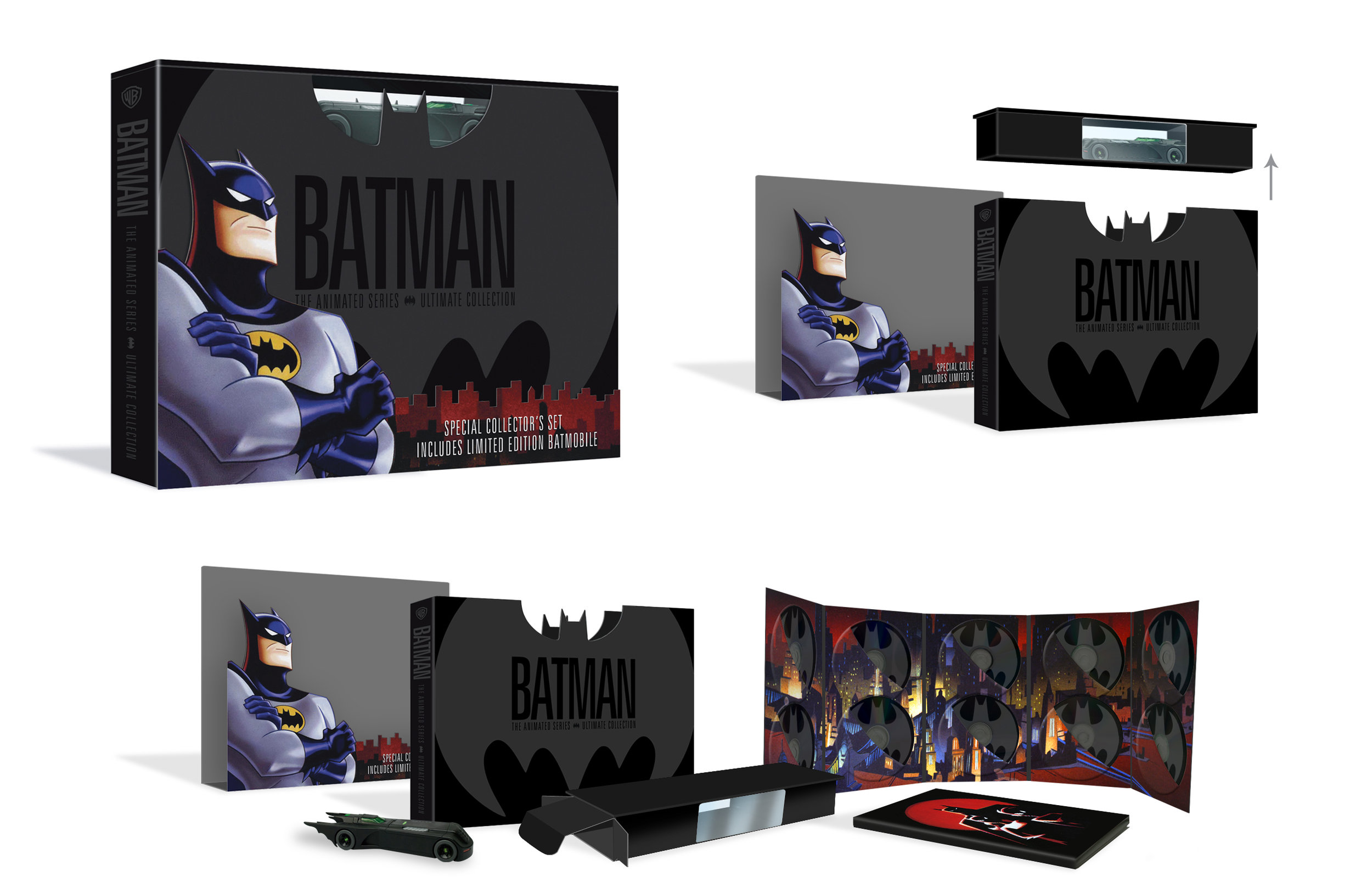 Batman The Animated Series Complete Collection