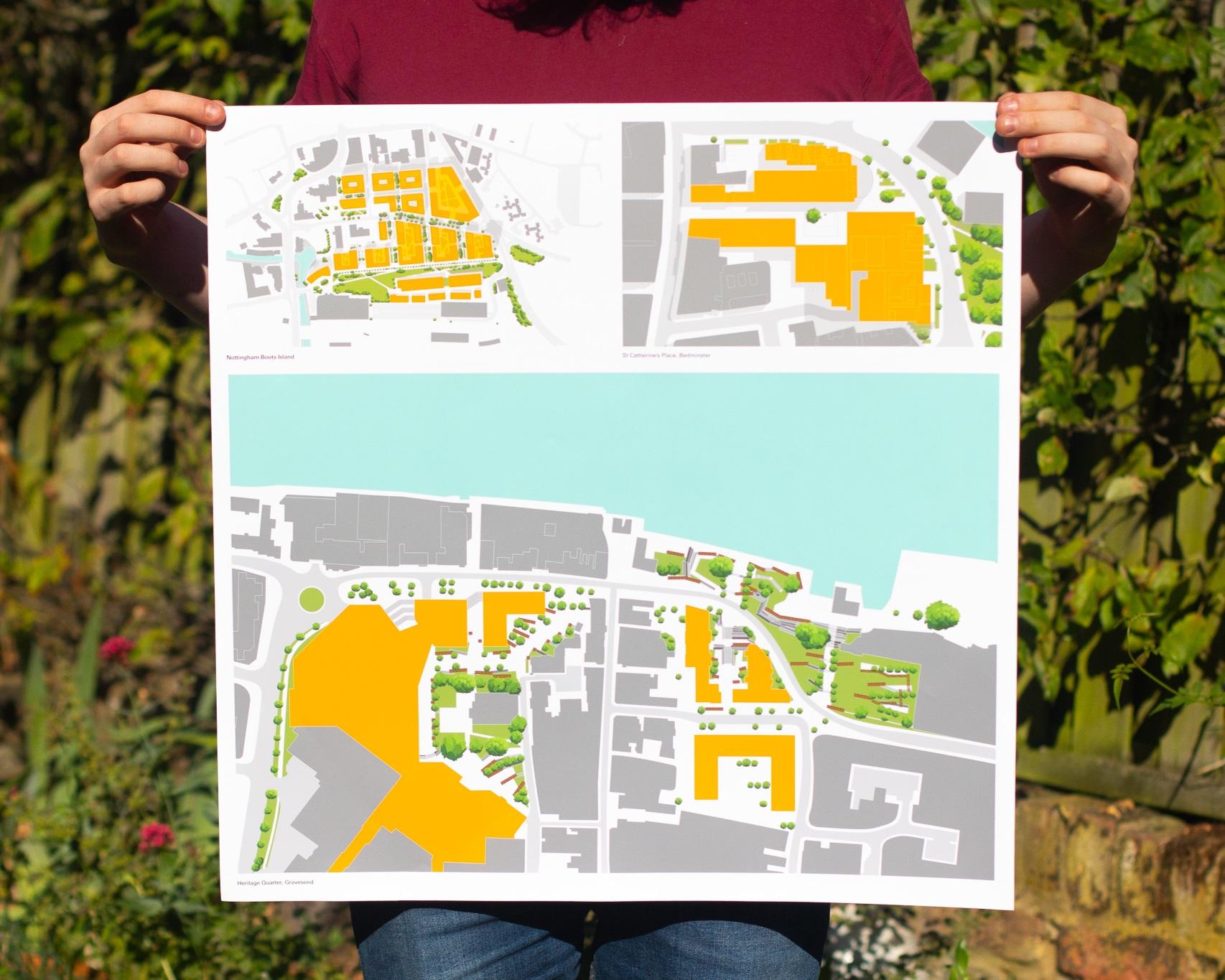 Nottingham Island - Architectural Illustration