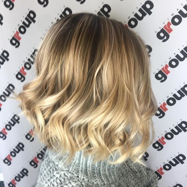#longbob #balayage #balayageblonde #smartbond #lorealcolorista #hairstyle #haircut #blonde