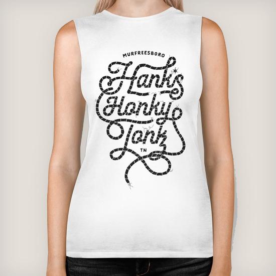 Hank*s Black Rope Sleeveless | $28.00