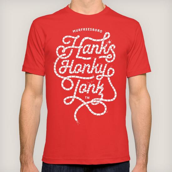Hank*s White Rope Men's Tee | $24.00