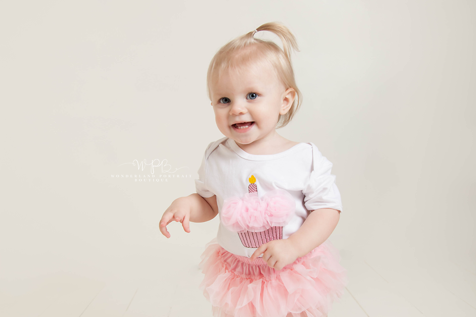 Warminster PA Cake Smash first birthday portraits