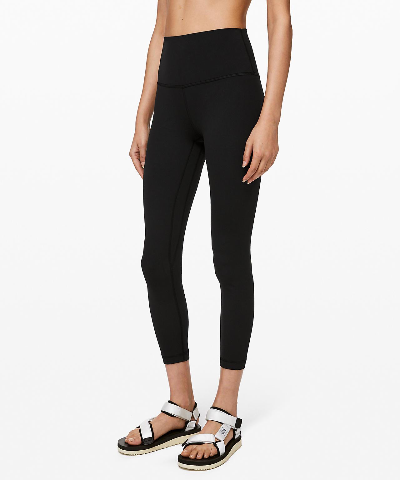 lululemon align splendid yoga basic black legging review