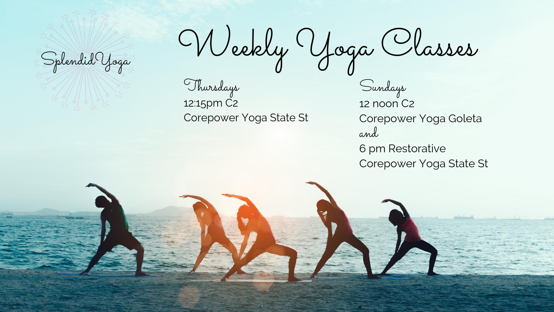 Splendid Yoga Morgan Balavage Yoga Classes Santa Barbara