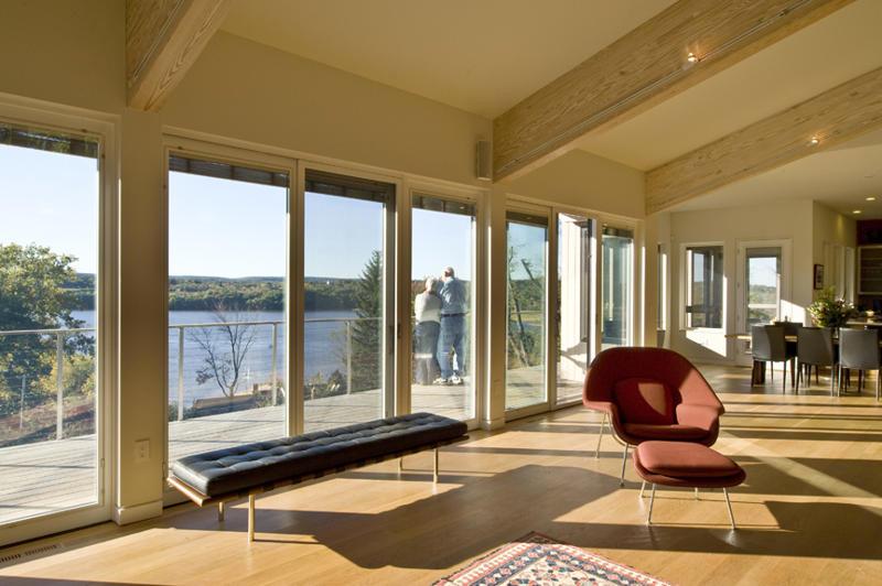 Contemporary Hudson River House - Hudson, NY