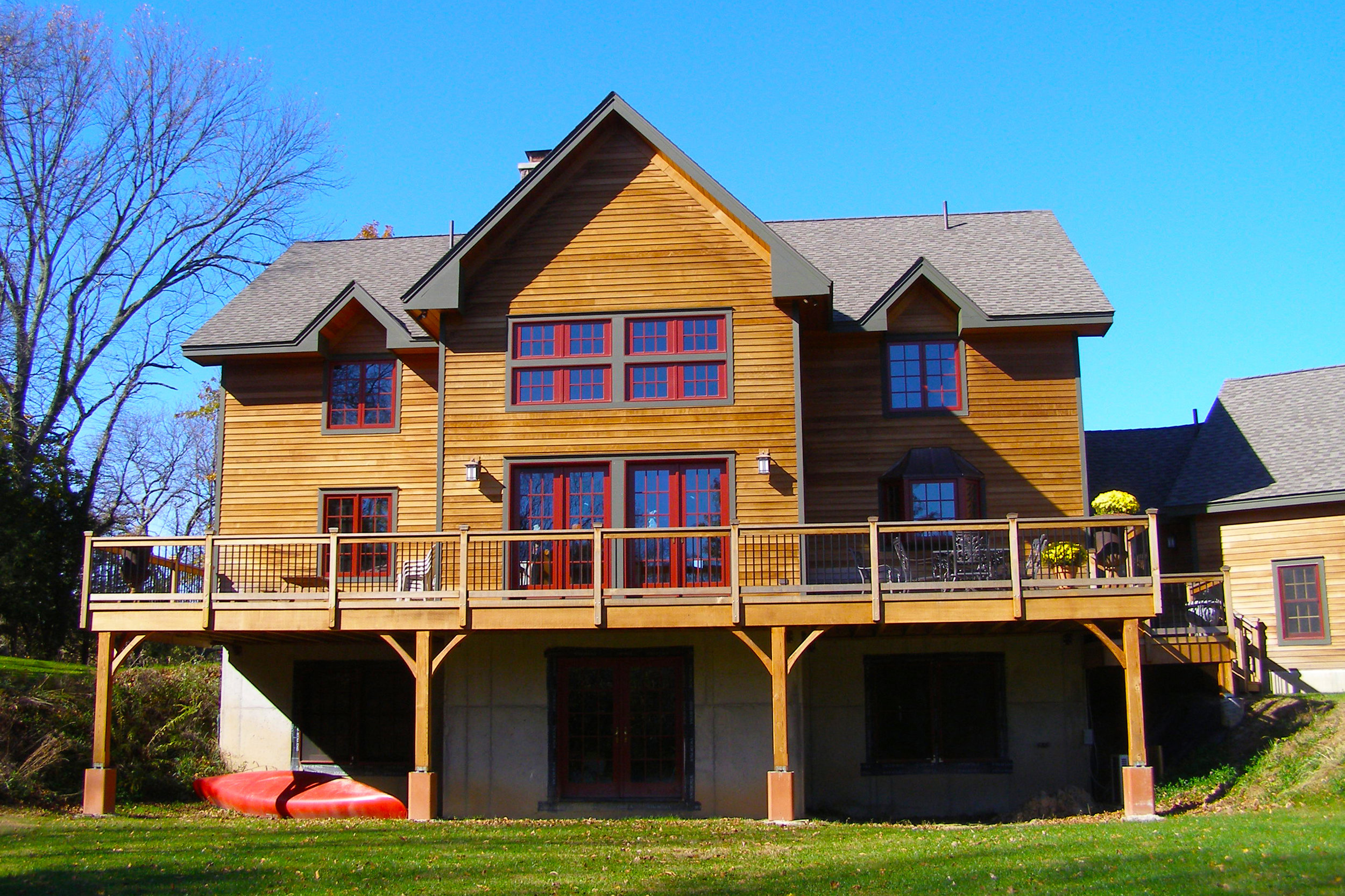 Timber Frame House  - Stone Ridge, NY