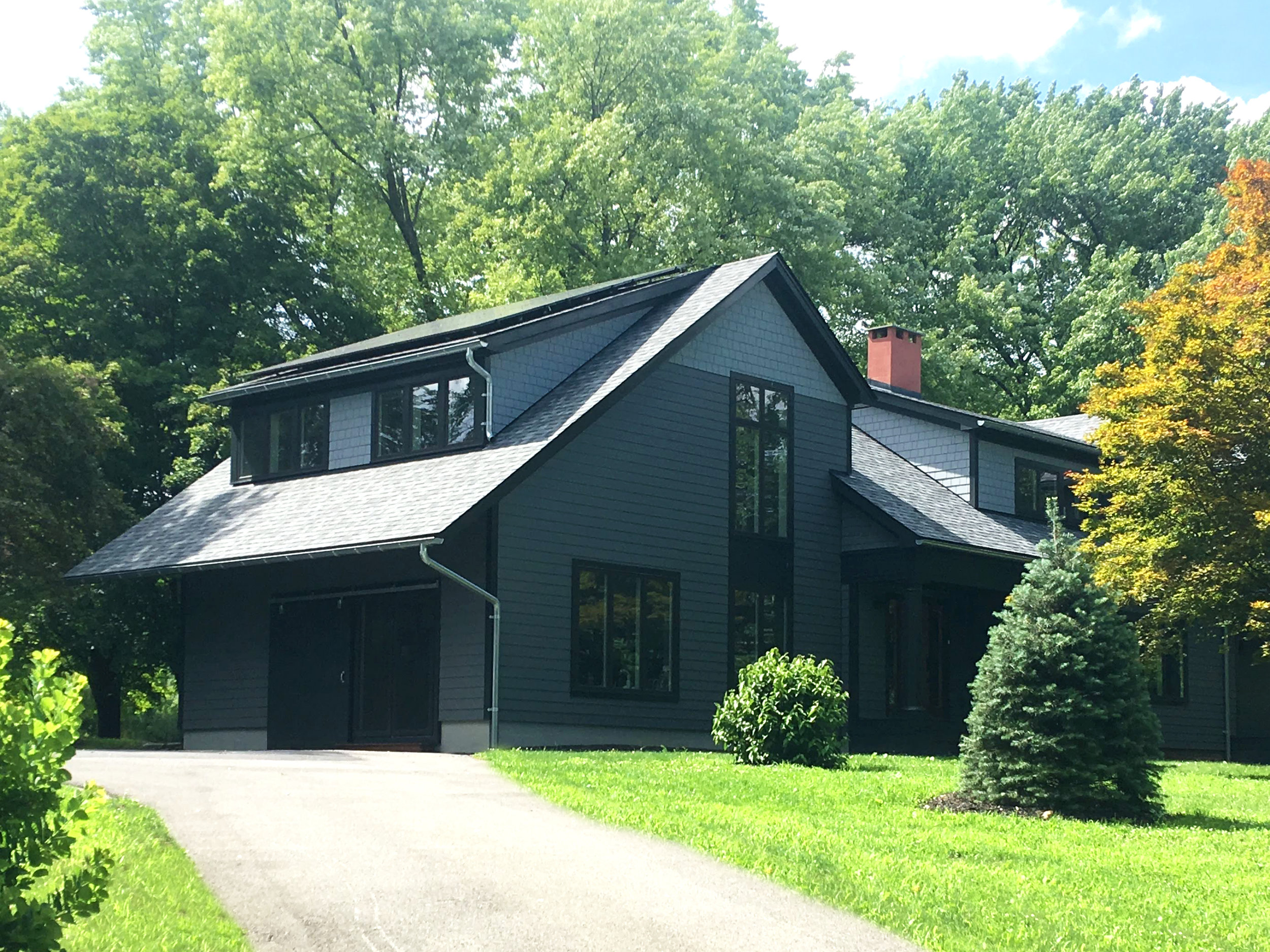 Shingle Style House Rebuild - Stone Ridge, NY