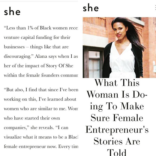 "Today, we are grateful for writers like @oms4shanthi who help us convey the back-story of our site.  This morning's ""behind the scenes"" write up is all about what motivated @alana_nyc_ to create this platform in the first place. Read the full piece via the link in our bio. 🎀 #storytelling #november #nyc #grateful"