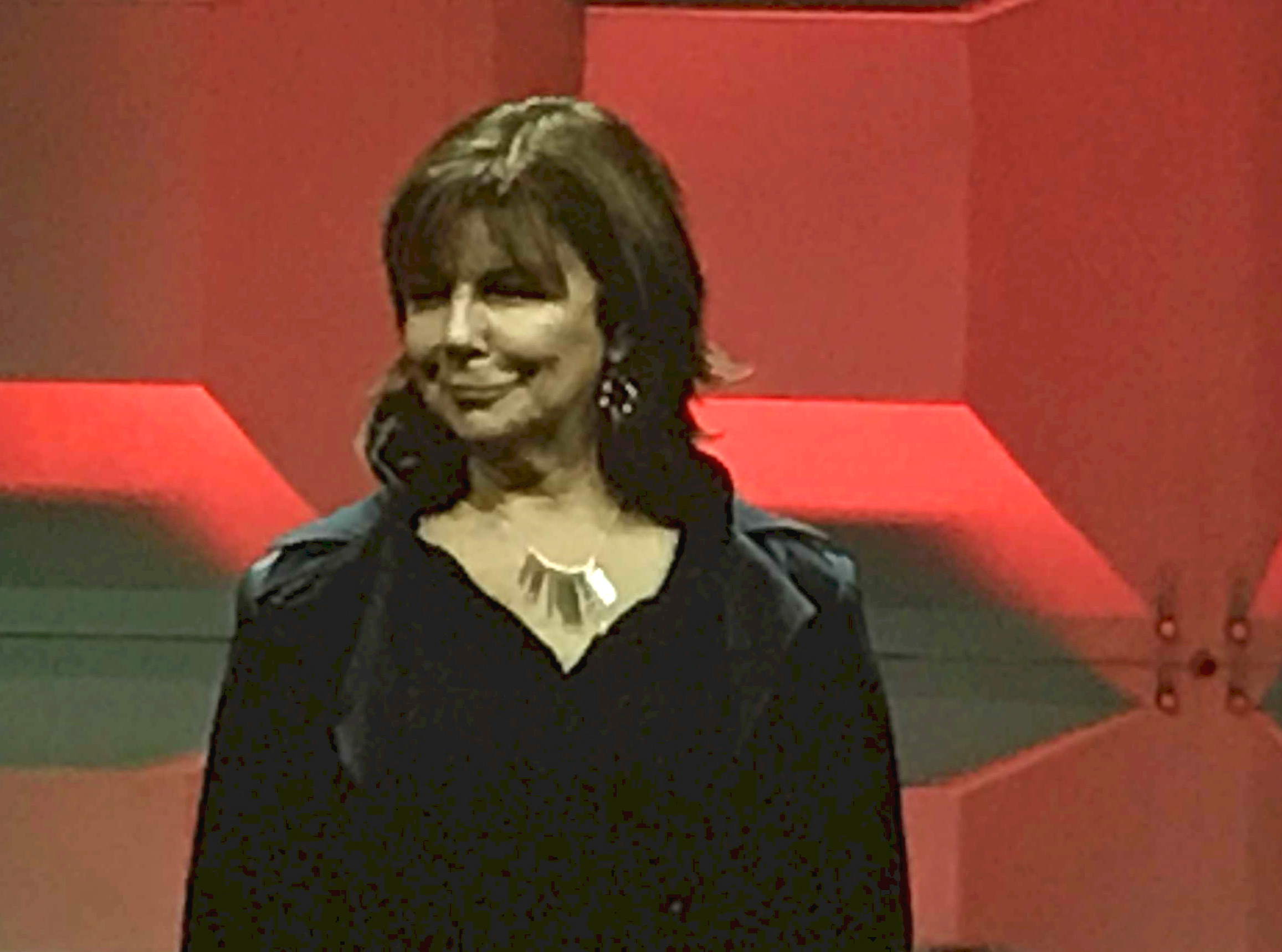 Lorraine taking the stage at the 2019 Watermark Conference
