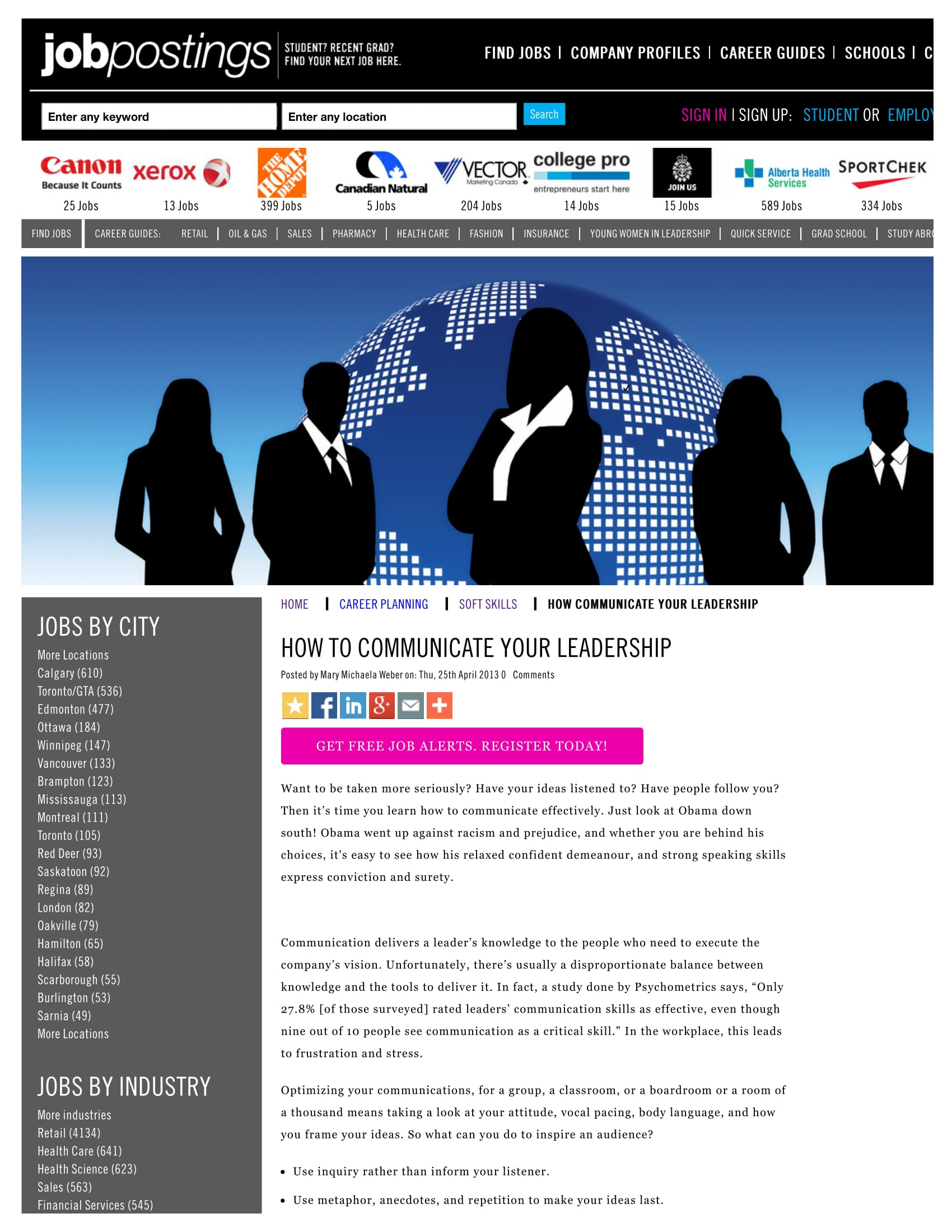 How to Communicate Your Leadership - September Issue, 2012The Me Brand -Page 44