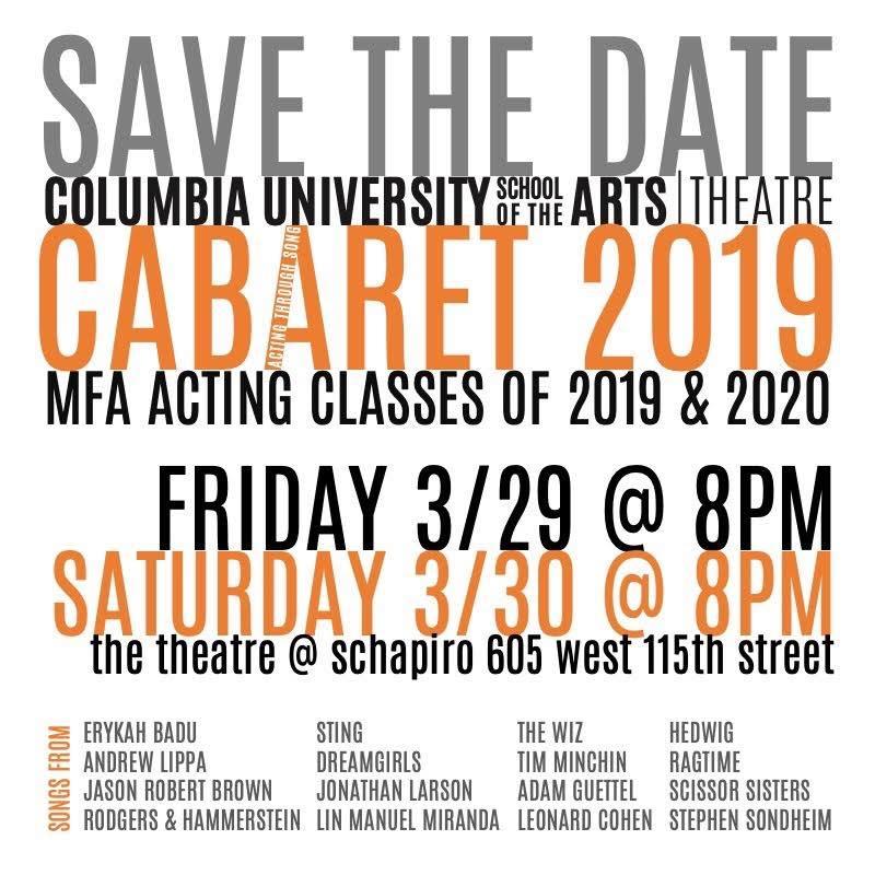 Cabaret 2019