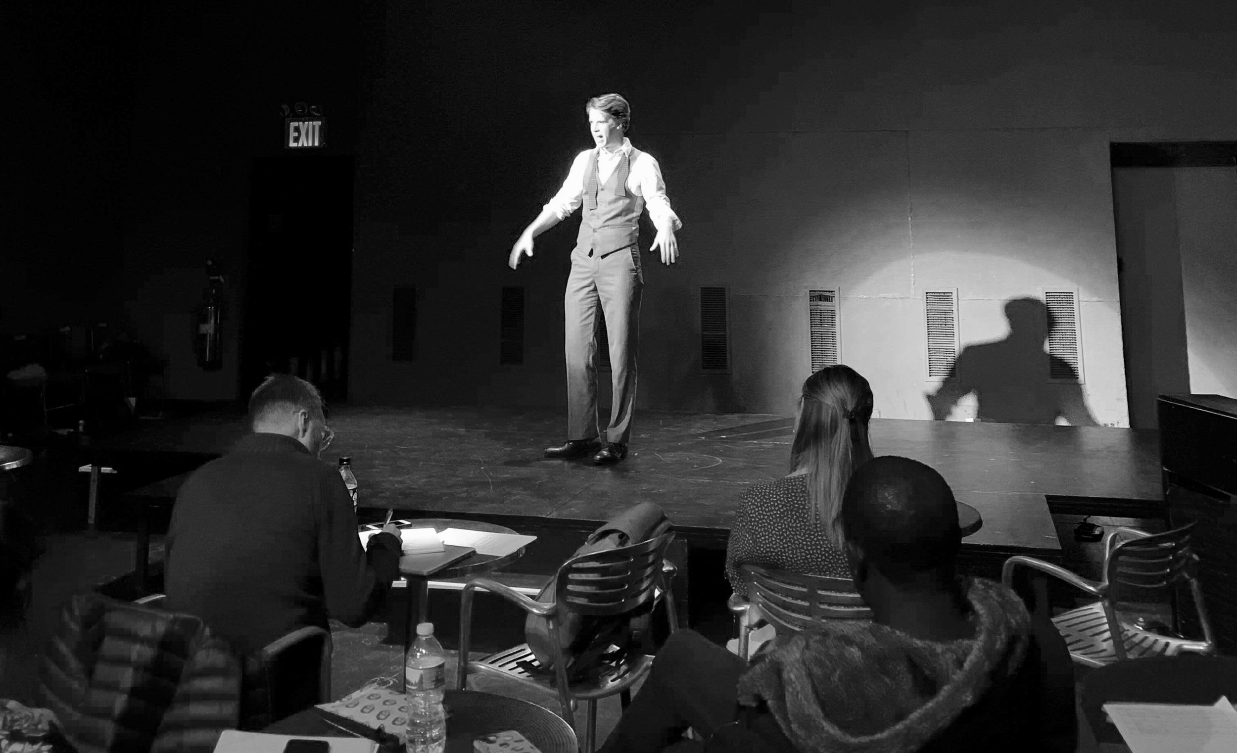 Columbia University Cabaret 2019 - Peter Calvin Atkinson