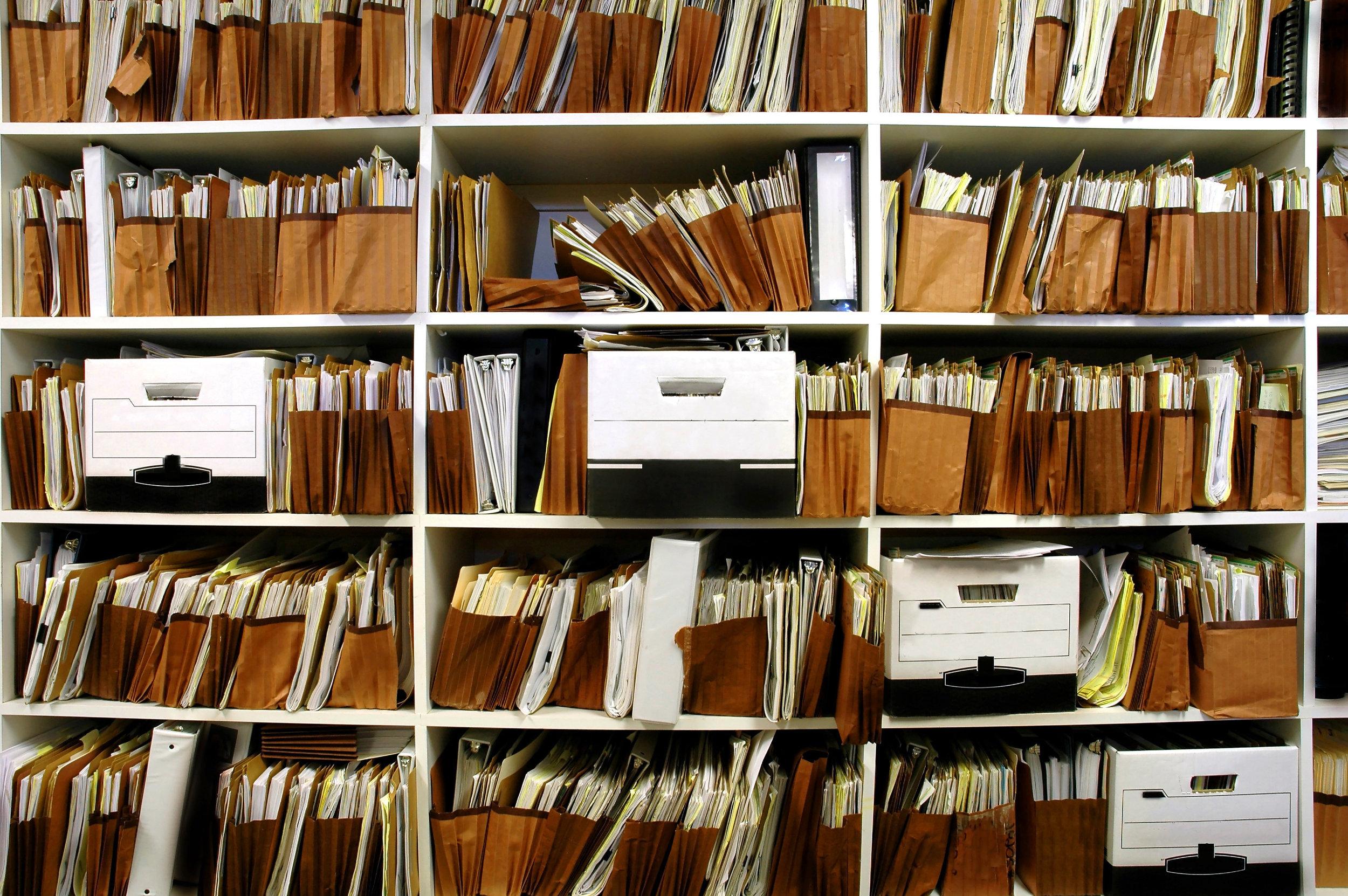 Client File Retention & Archiving Services