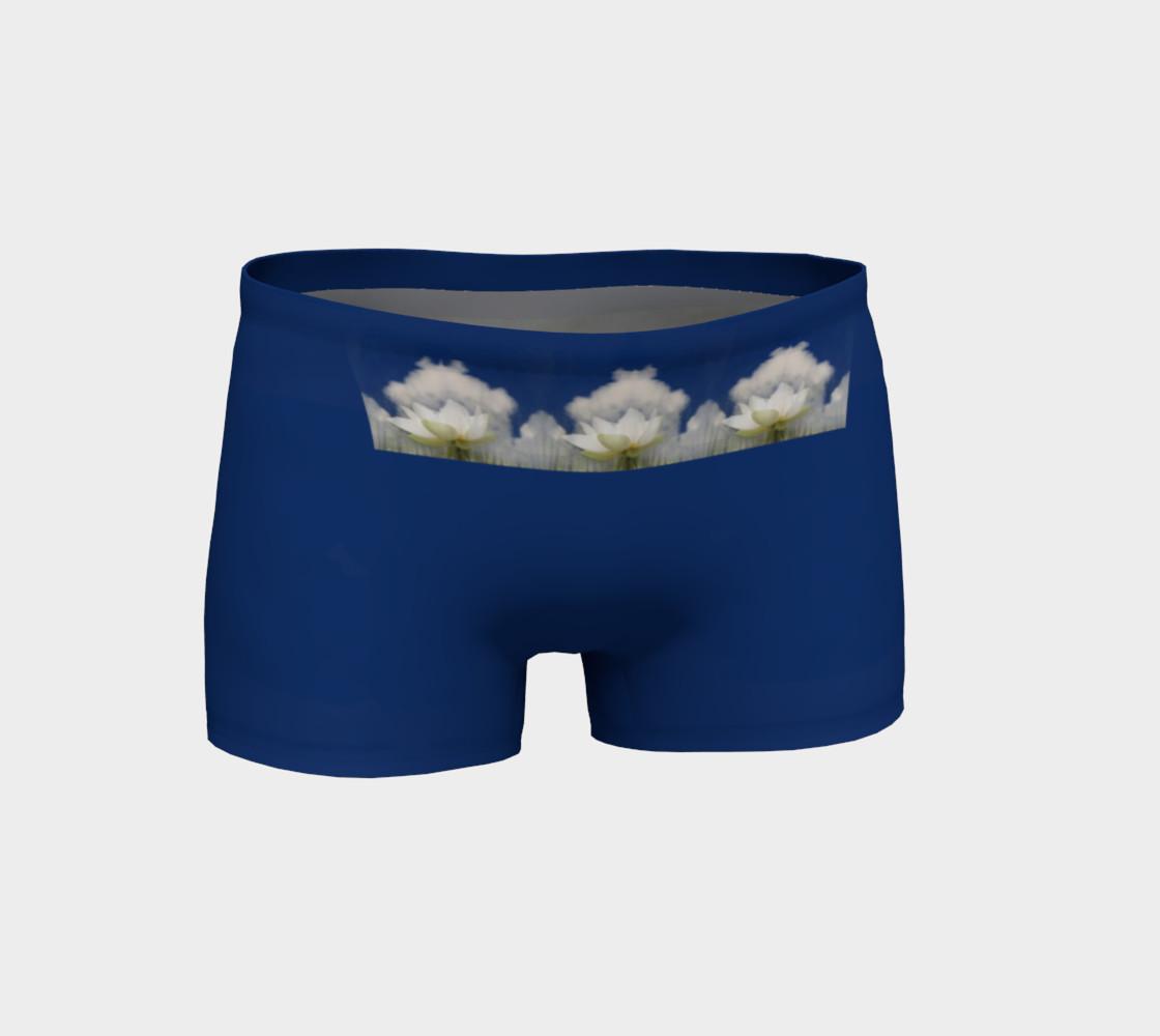 Quan Yin Lotus Blossom shorts