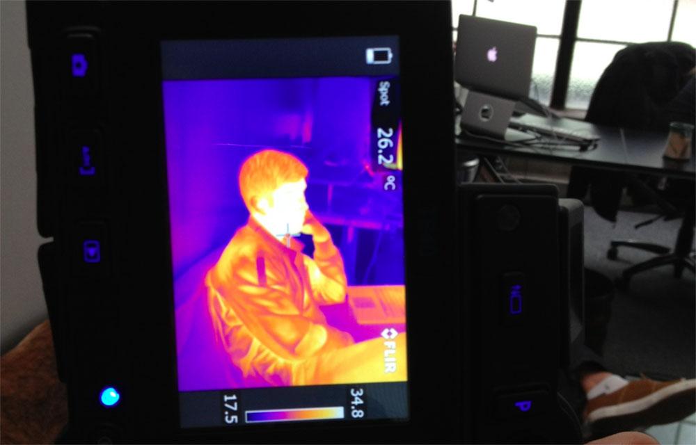 Borrowed FLIR,thermal cameras