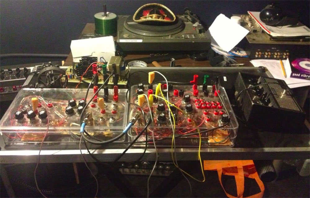 Custom built synthesizer