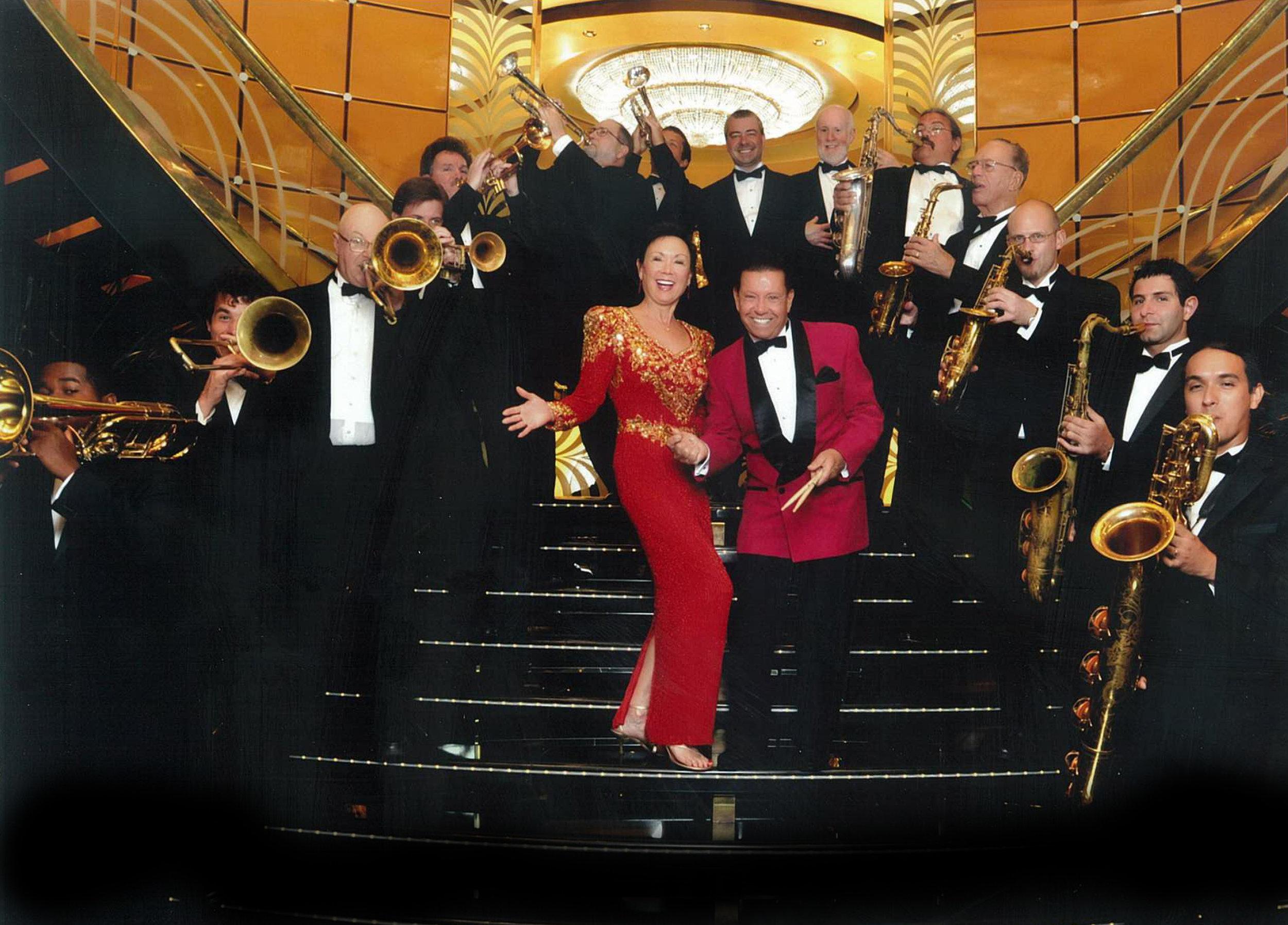 The Dynamic Les DeMerle Big Band    featuring Bonnie Eisele