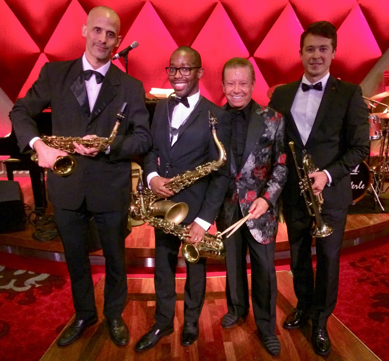 The Les DeMerle Horn Section - Oasis of the Seas