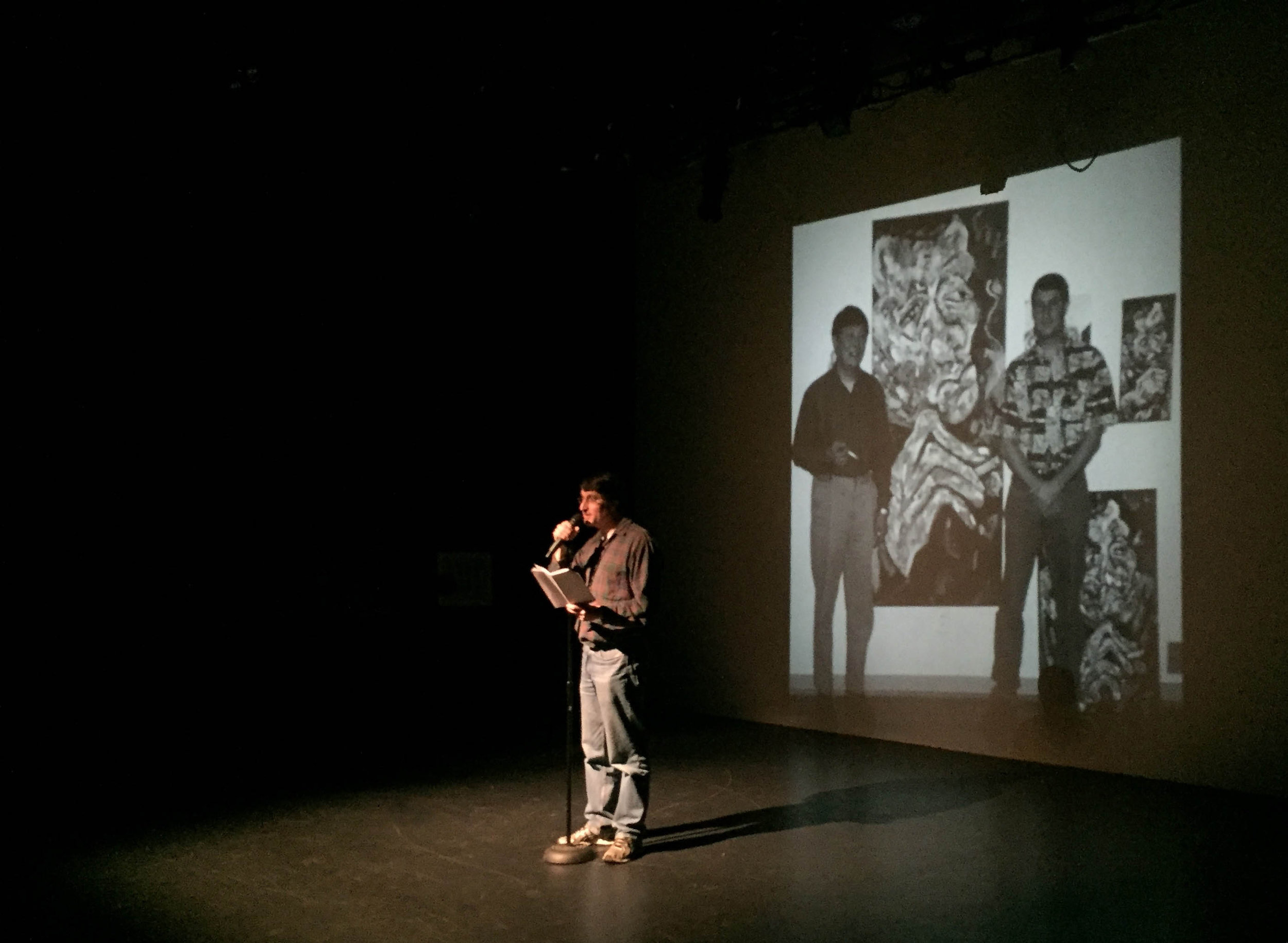 Photo of Tom Block at the 2017 IHRAF by Elisa Guiterrez