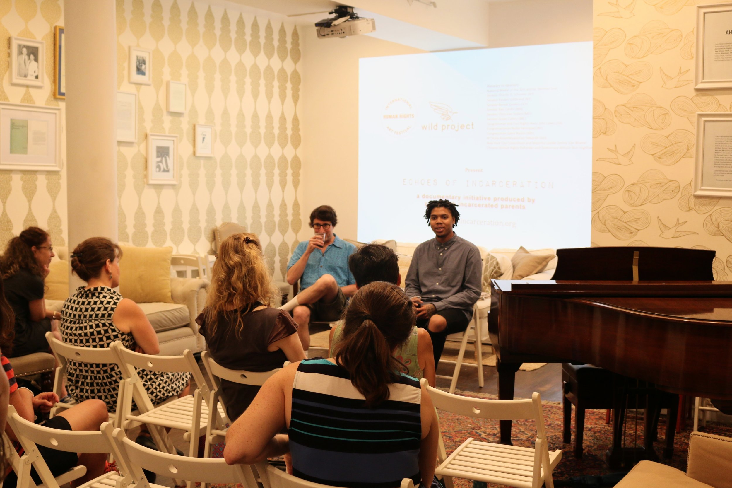 Producer Tom Block and Filmmaker Kharon Benson