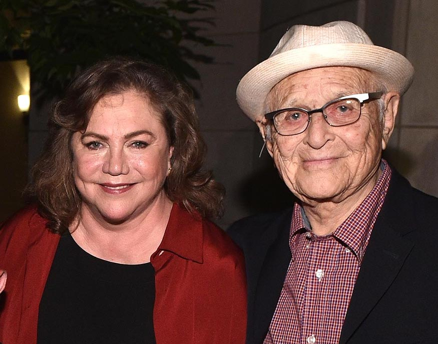Norman Lear with Festival friend Kathleen Turner at Norman's 95th birthday party last year.