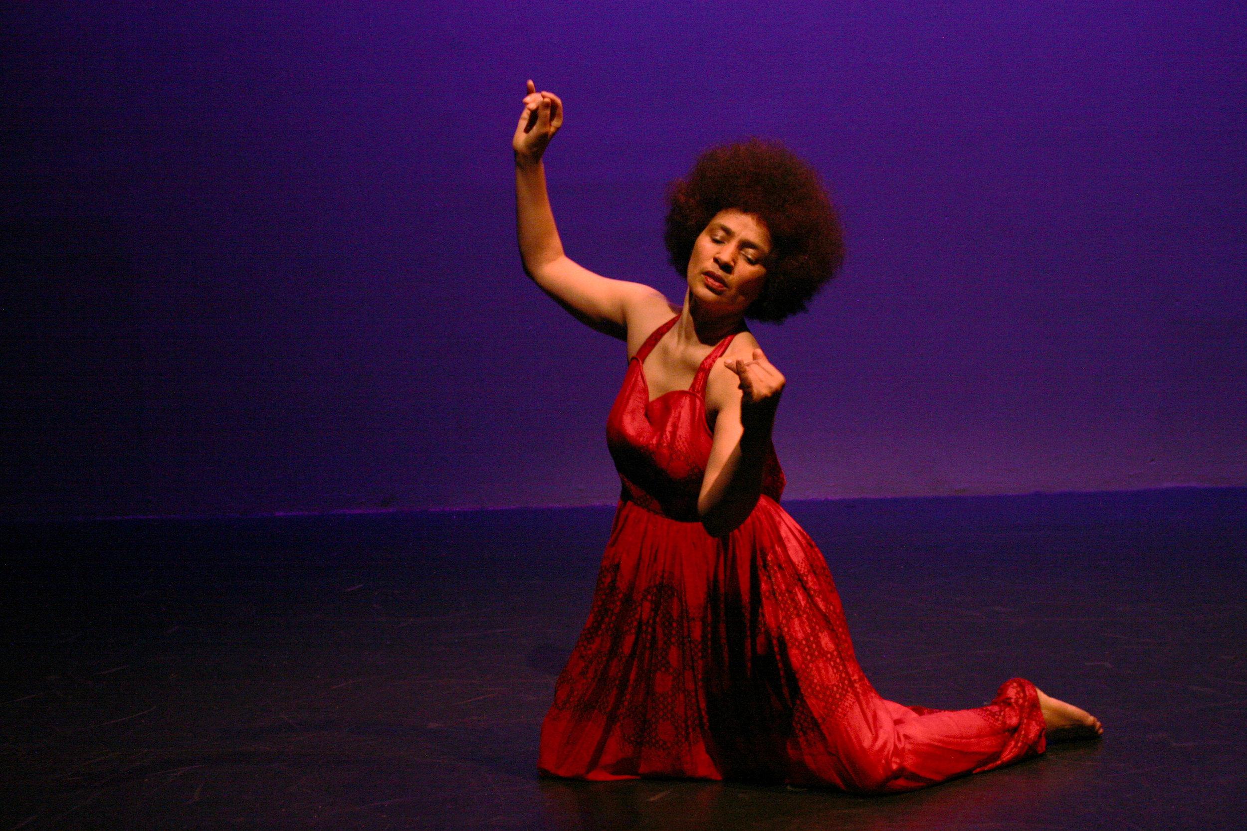 "Oxana Chi performs in ""Feeling Jazz.""Photo by Elisa Gutierrez"