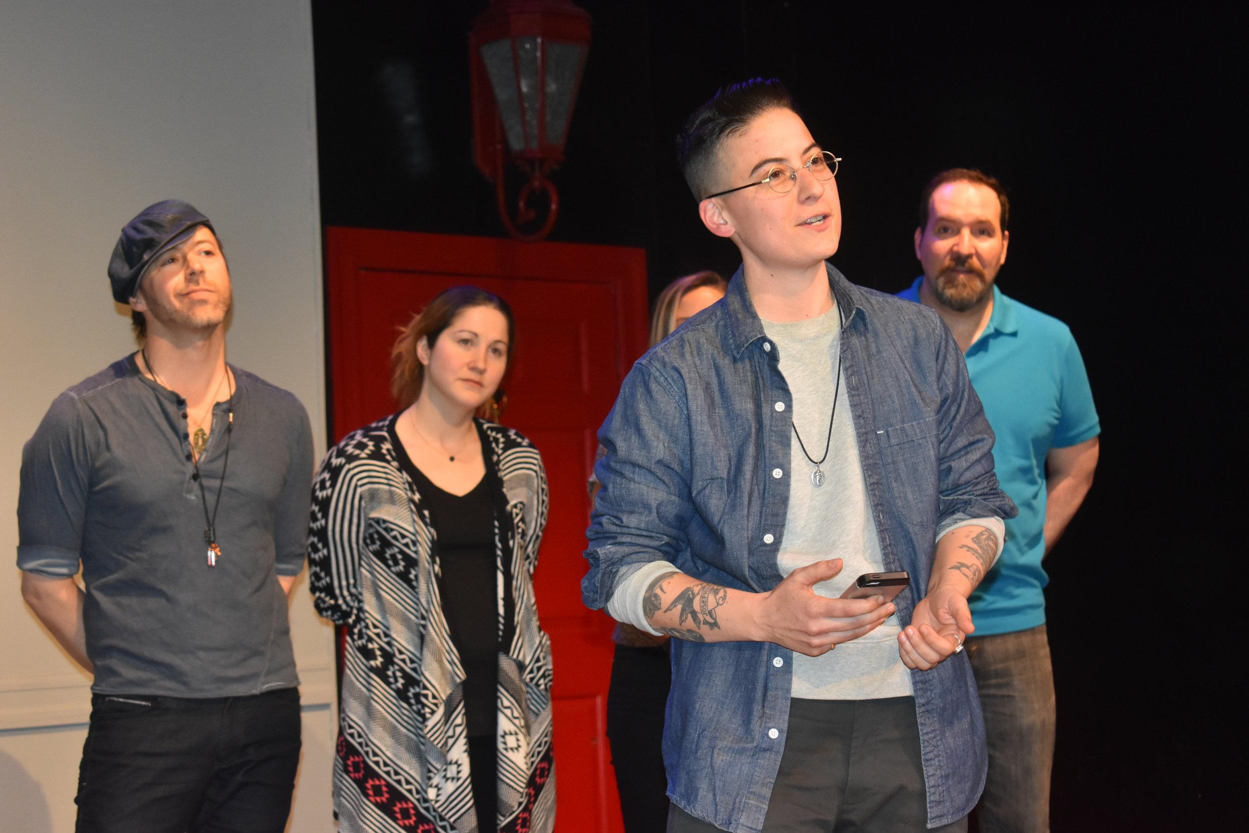 Trans clothier Rae Tutera tells their story. Photo by Layla Zami