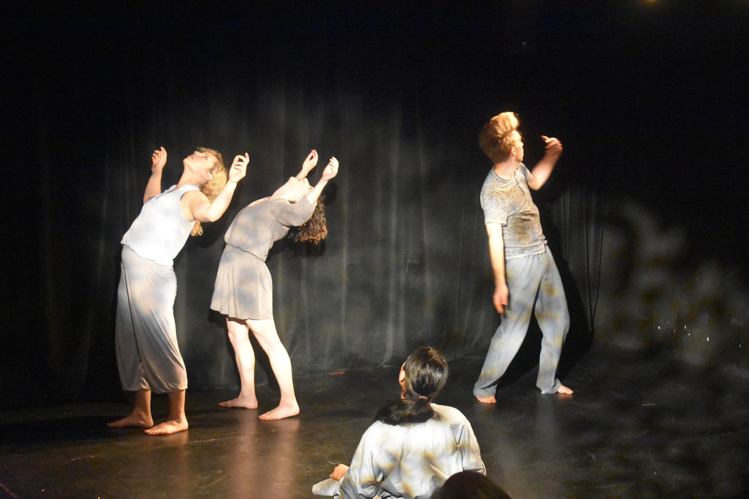 "Open Dance Ensemble interpreting ""Wind."" Photo by Mollie Block"