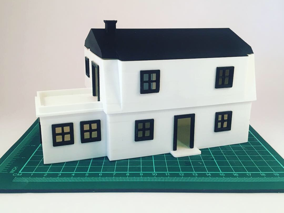 Building Models - Bring your home or office plans to life, at scale, either for visualisation before breaking ground or as a display model in the completed build.
