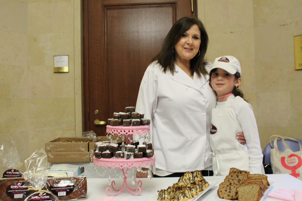 Lily and her mother, the masterminds behind Hungry Monkey. Photo by Audrey Valbuena.