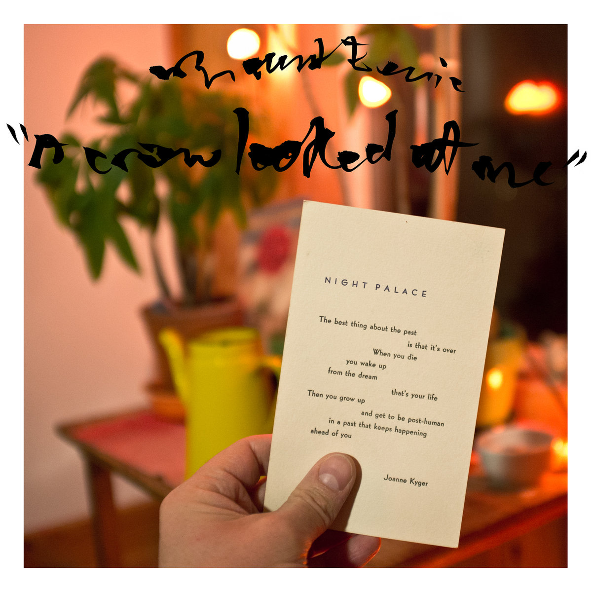 #7 A Crow Looked At Me, Mount Eerie - On album opener