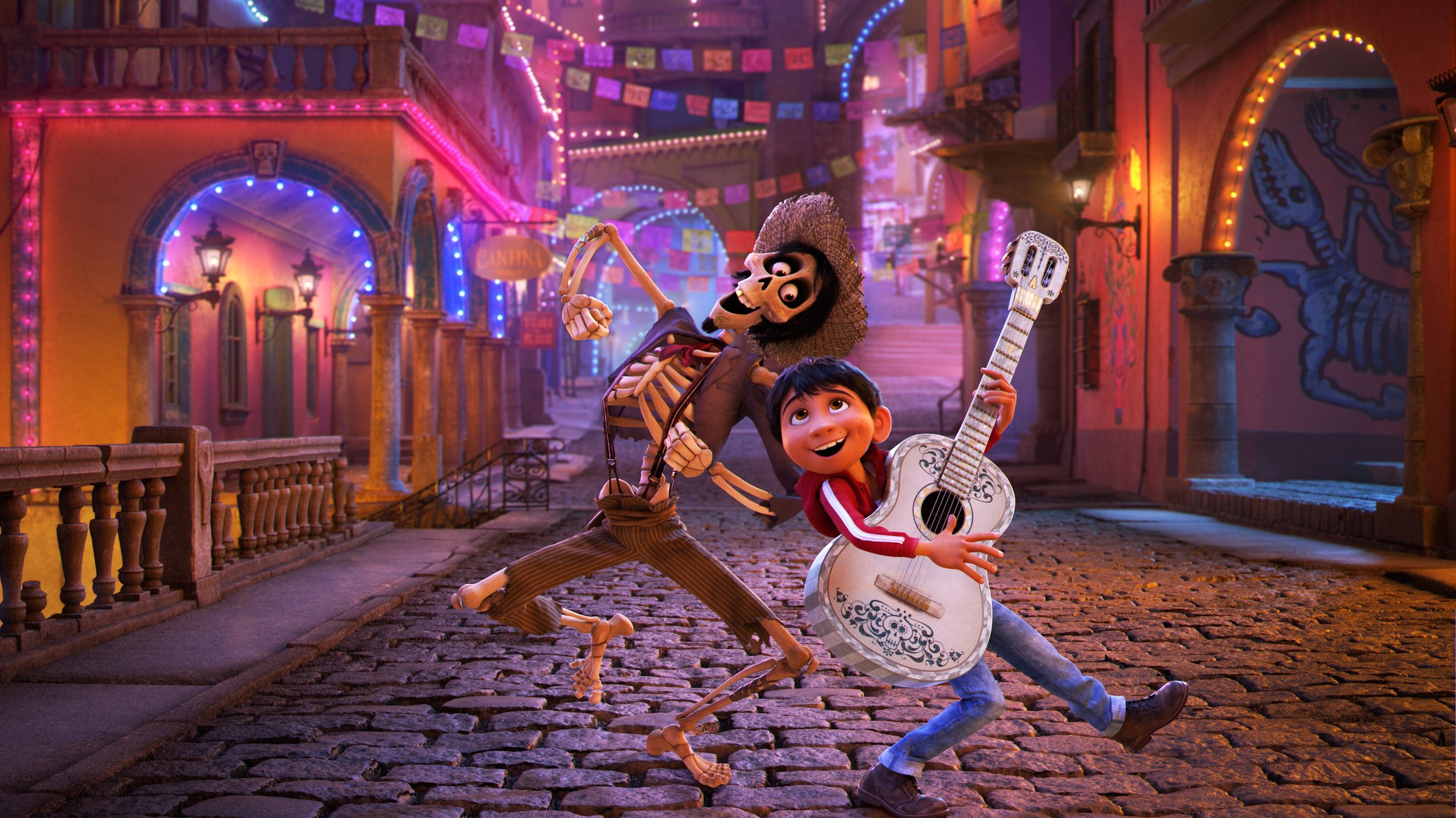 "#4 Coco - With perfectly timed Spanglish and an entirely Latino voice cast, Pixar's Coco broke the mold, celebrating Mexican culture with its bright colors and beautifully constructed animation. We fall in love with the Riviera family, as Miguel travels through the Land of the Dead to discover a love deeper than his love of guitar: the love of family. A children's movie, yes. But Coco reaches beyond the superficial as we watch Miguel and his great, great grandparents (some of whom are already dead) learn through each other to discover their true selves. To move away from the ""rip-off"" of culture that was The Book of Life, Pixar's Coco brings us characters that are human and real, who have a deep culture but also dynamic and emotional actions, giving young children (and adults) a bright celebration of what it really means to have representation."