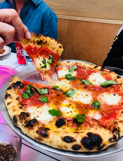 Margherita Pizza. Photo by Emily Norfolk.