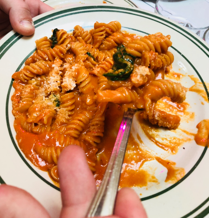 Spicy Fusilli. Photo by Emily Norfolk.
