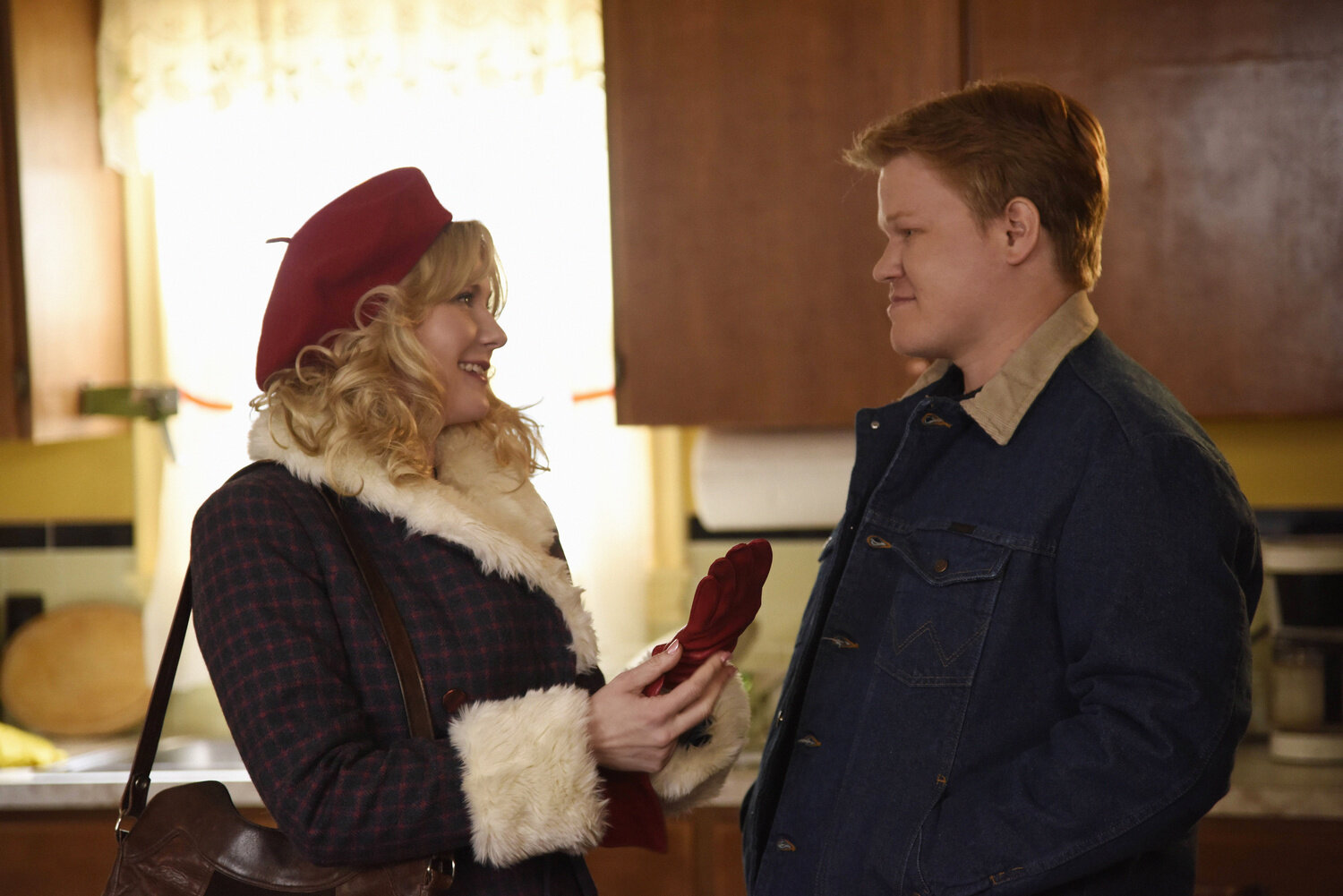 "Fargo (2014) - Dunst played a small town beautician in the 1970s who dreams of a life that is bigger, better and different than the one she has in Minnesota. Her performance is complemented by Jesse Plemons, her now real-life fiancé, who played her devoted husband and town butcher eager to settle down and start a family. (By the way, Plemons's speech at the Walk of Fame ceremony is so sweet and worth watching–especially since the two met while filming ""Fargo"").In ""Fargo"", Dunst portrays a woman who is unsatisfied with the role society has written for her. She represents so many women who feel ""faulty"" when they cannot find a way to ""have it all"" and still be happy. Her storyline may not be where all of the violence is (a huge part of the show's appeal), but the revolution of the action around Dunst's character brings attention to a side of the show that is rooted in feminist ideals and female empowerment. ""Fargo"" is one of my personal favorite shows and Dunst is a huge reason why.(Image courtesy of IMDB/2014)"
