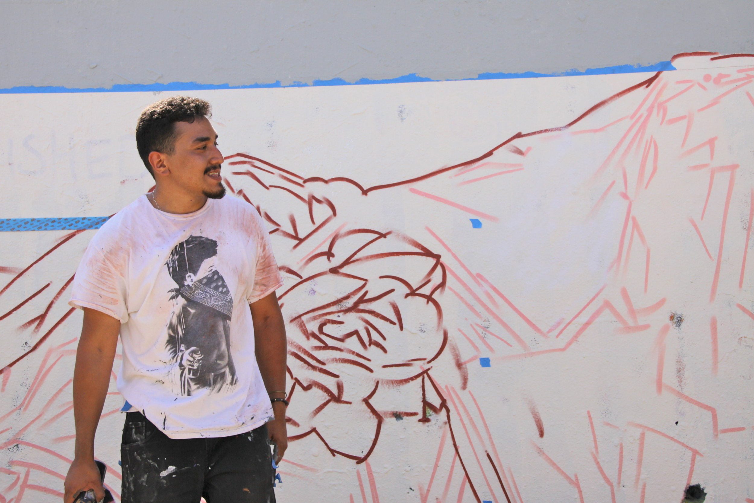 WIP: Street Concepts: Mural Workshop with Chris Montoya