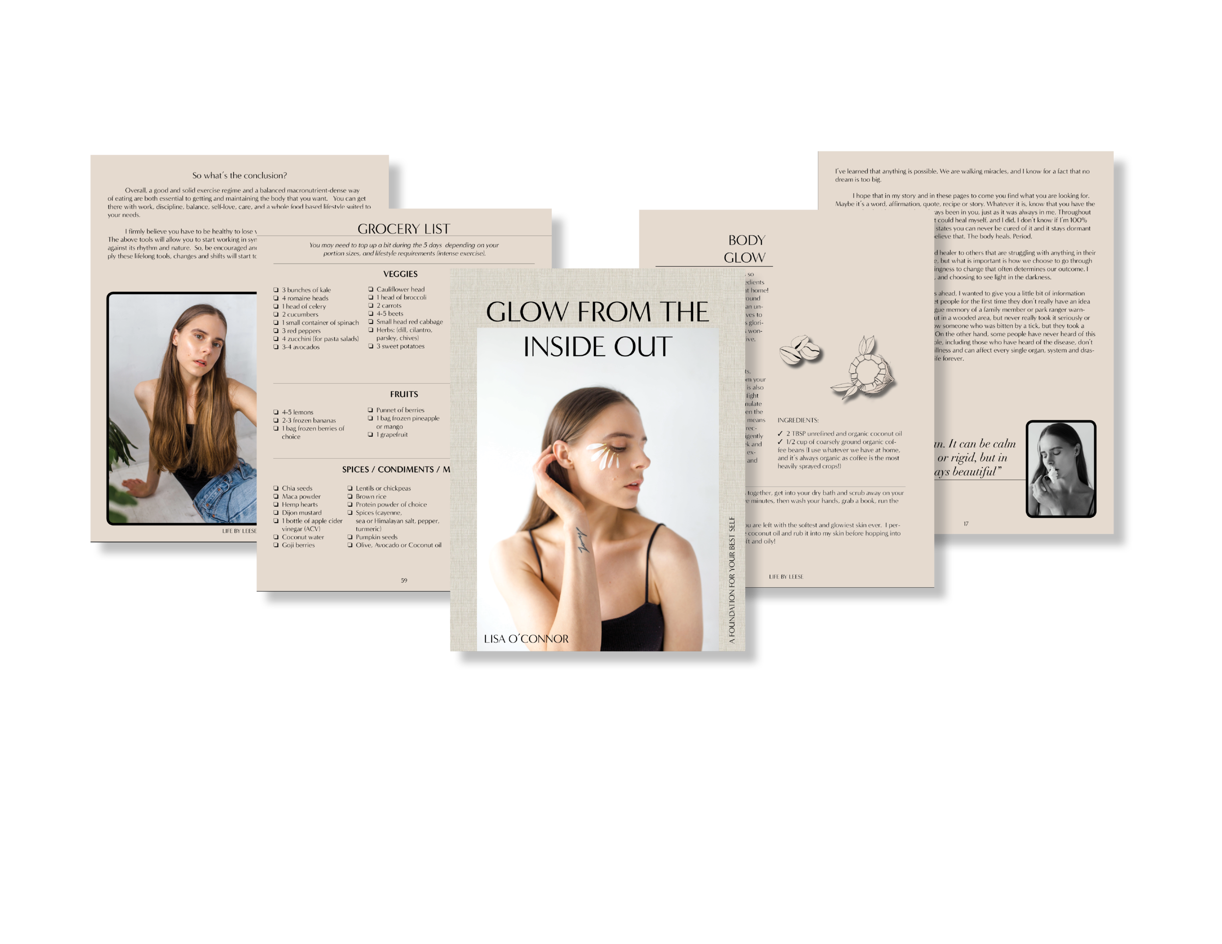 e-book final product, layout for  life by leese
