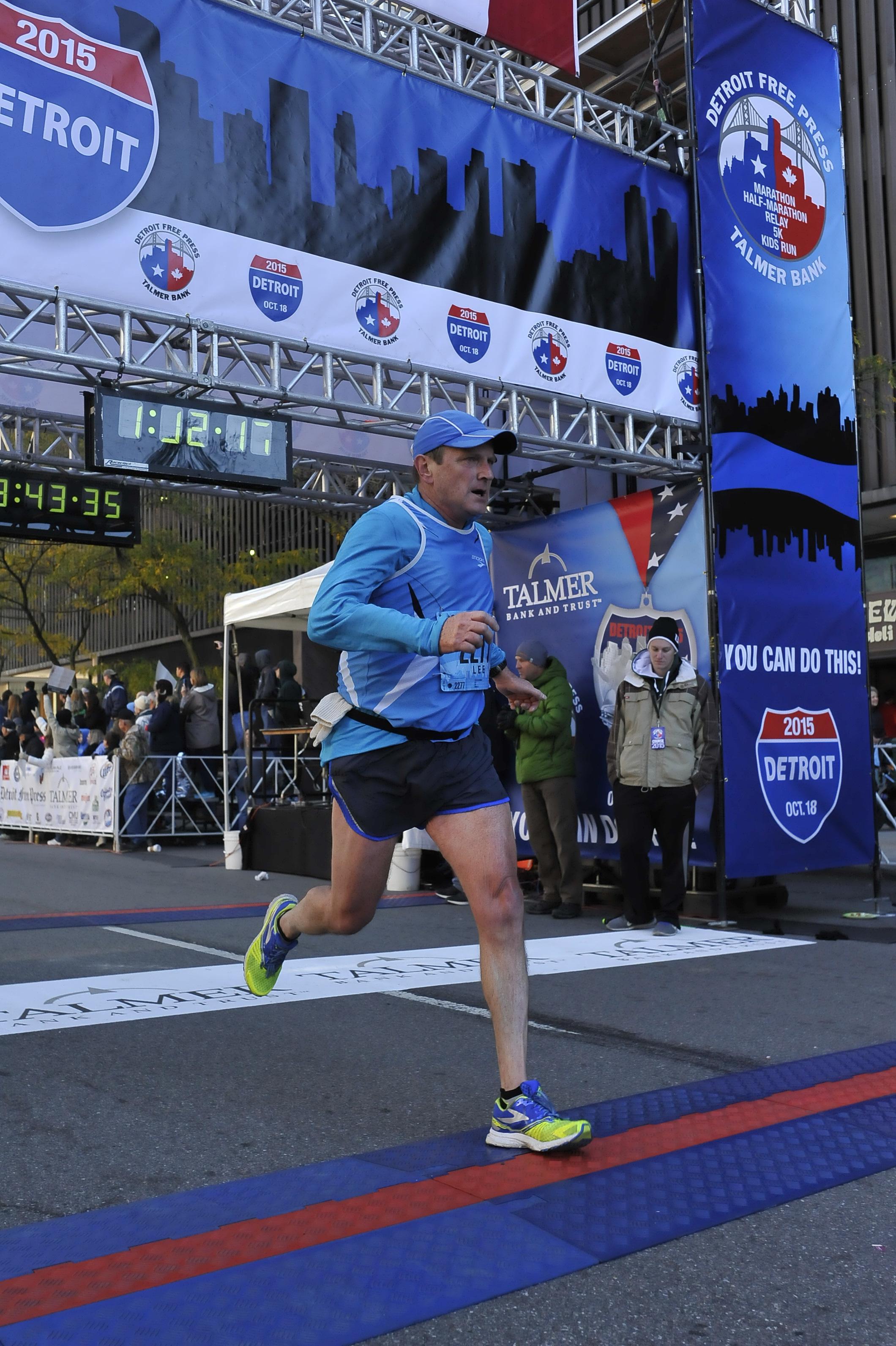 Detroit Marathon 2015 - 3rd AG