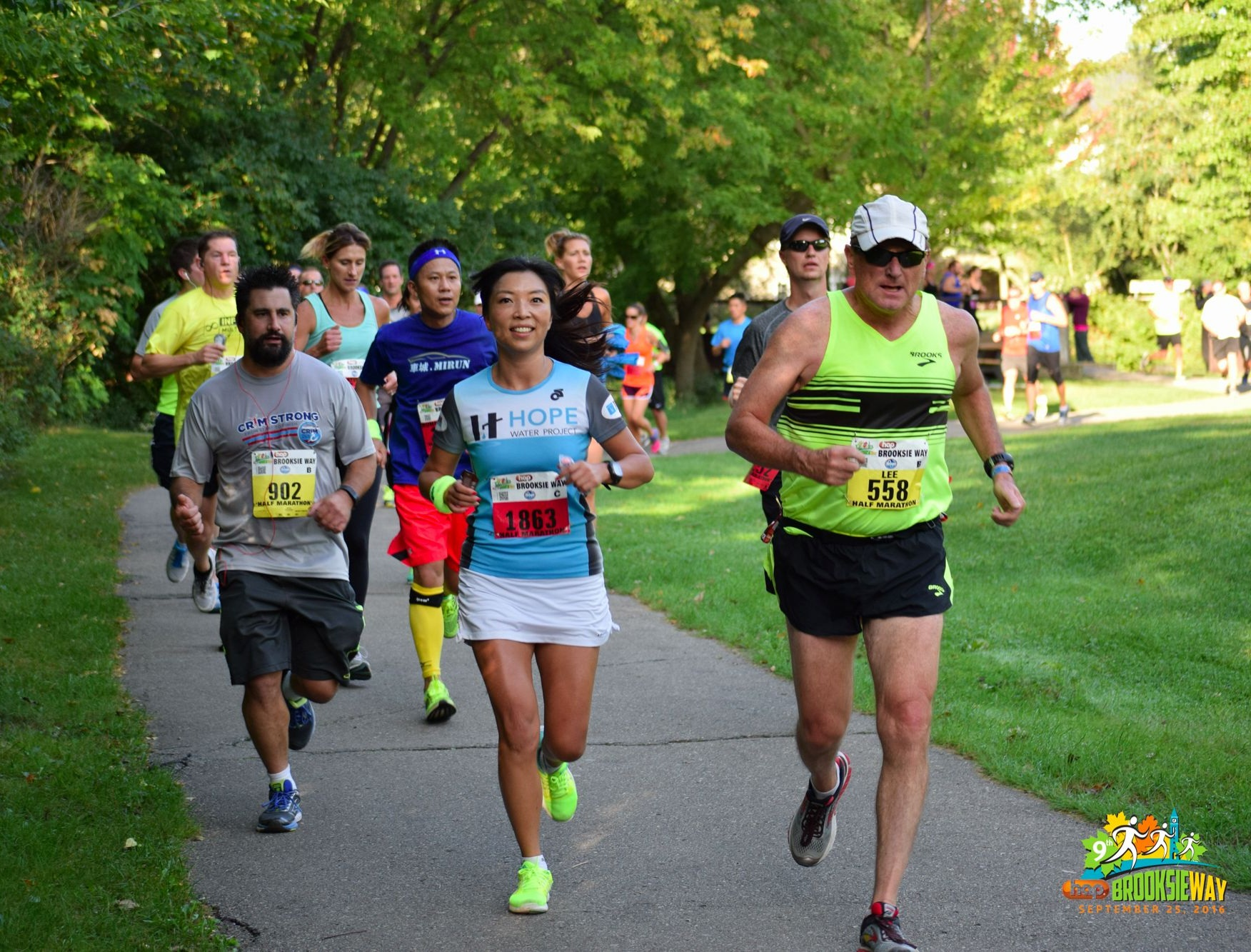 The Brooksie Way Half Marathon